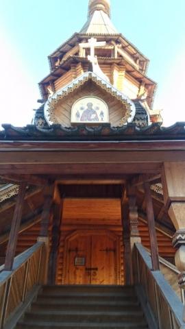 Храм Святителя Николая у входа
