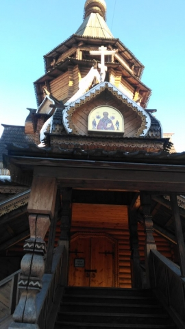 Храм Святителя Николая вход