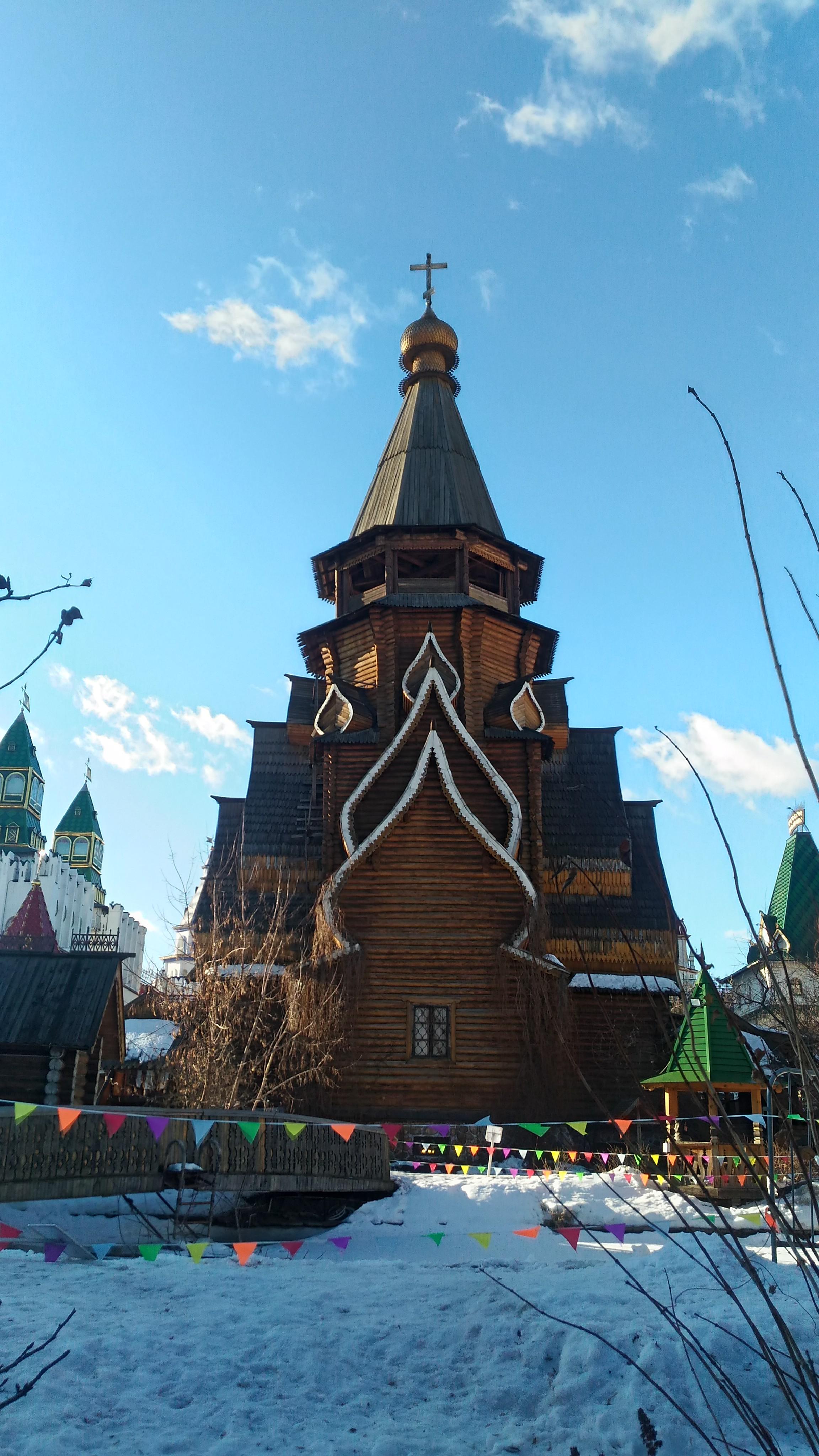 Храм Святителя Николая вид сзади
